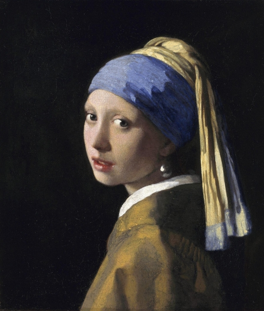 Johannes Vermeer_Girl with a Pearl Earring_1665