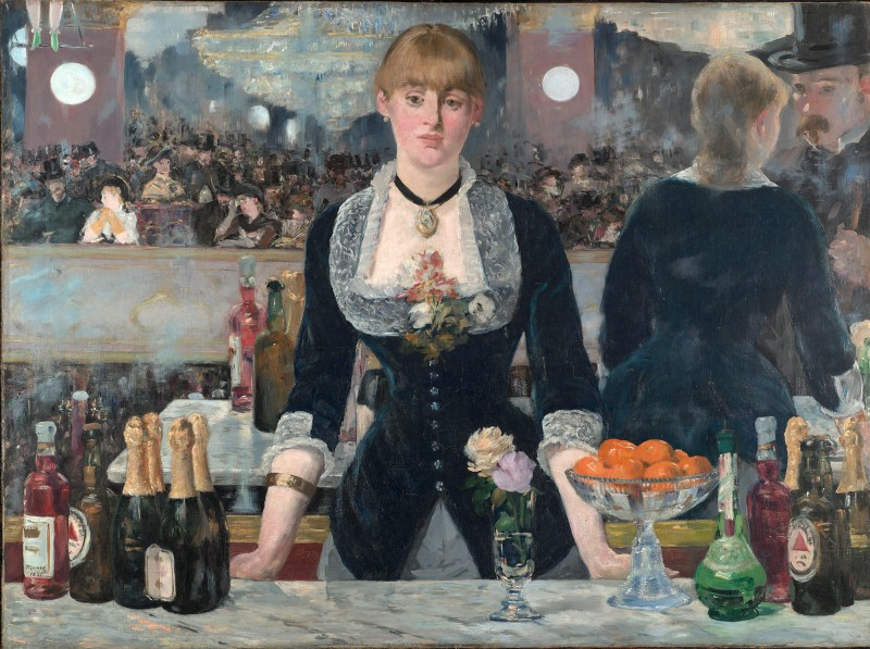 Edouard Manet_A Bar at the Folies Bergère, 1882