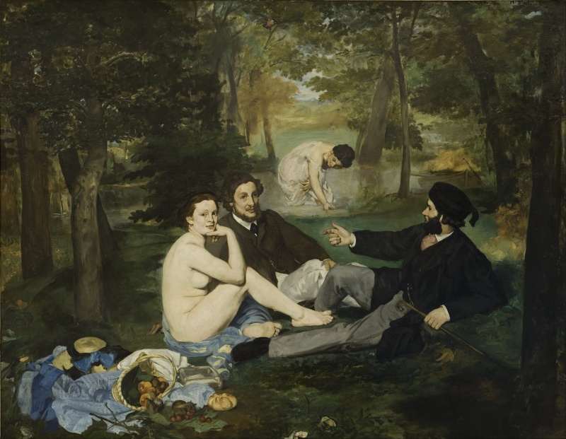 Edouard Manet_The Luncheon on the Grass_1863