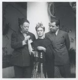 Diego Rivera, Frida Kahlo, Miguel Covarrubias