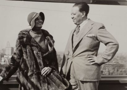 Jean-Abbott-Wright-and-Diego-Rivera-in-Detroit-1932-