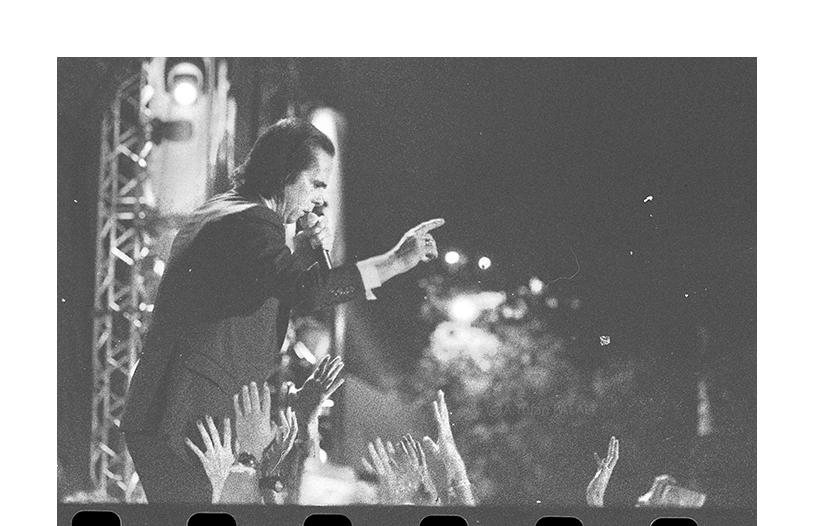 Nick Cave and The Bad Seeds, Küçükçiftlik Park, İstanbul, Temmuz2018