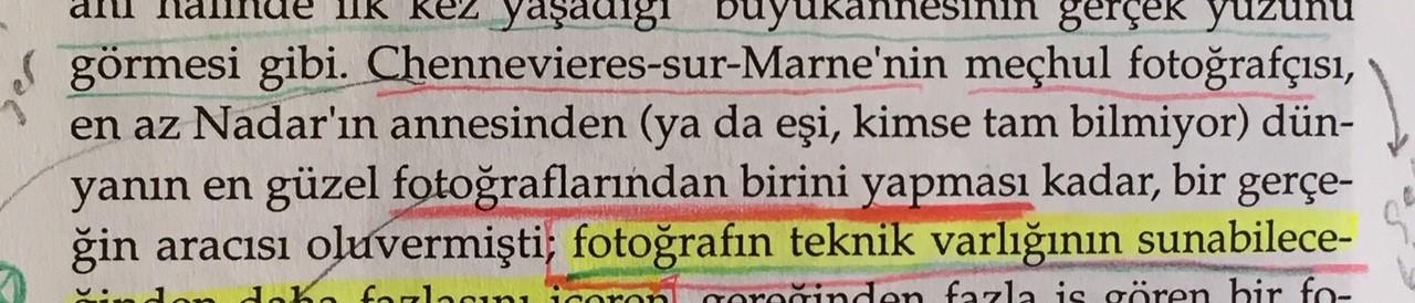 Camera Lucida, Fotoğraf Üzerine Düşünceler, Roland Barthes, Türkçesi Reha Akçakaya, 6.45 Yayın, 2008_28
