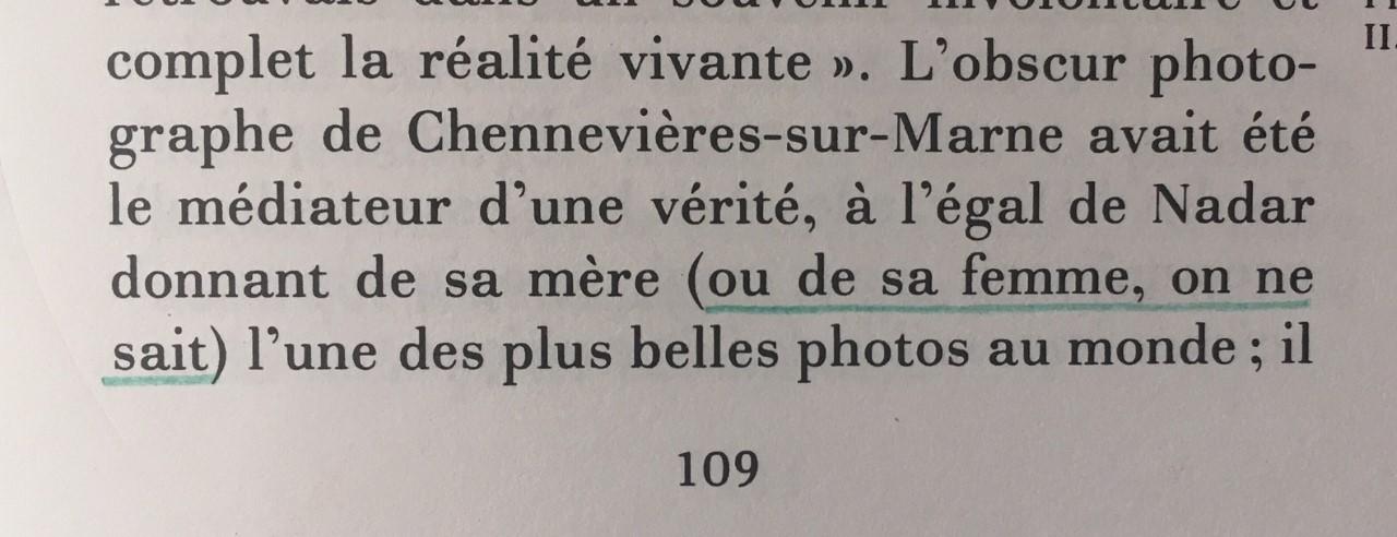 La Chambre Claire, Note sur la photographie, Roland Barthes, Editions de lEtoile, Gallimard, Le Seuil, I980._28